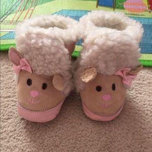 Robeez infant boots.